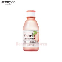 SKINFOOD Premium Peach Cotton Toner 175ml