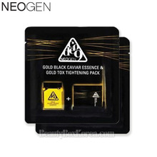 NEOGEN Code 9 Gold Black Caviar Essence & Gold Tox Tightening Pack 9.5ml*2ea, NEOGEN