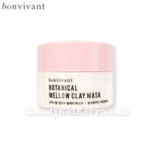 [mini] BONVIVANT Botanical Mellow Clay Mask 5g