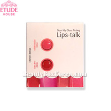 [mini] ETUDE HOUSE Dear My Glass Tinting Lips Talk 2 Colors (#PK003,#RD302)