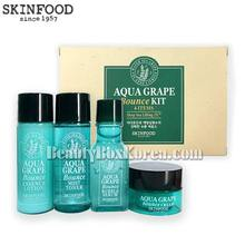 [mini] SKINFOOD Aqua Grape Bounce Kit 4 Items