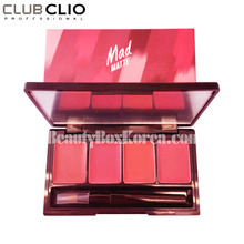 [mini] CLIO Mad Matte Lip Palette 1.0g*4