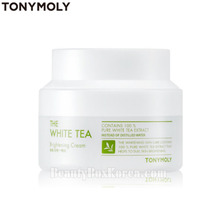 TONYMOLY The White Tea Brightening Cream 60ml, TONYMOLY