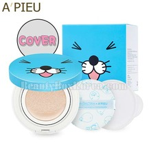 A'PIEU Air Fit Cushion XP Special Set SPF50+PA+++ 14g*2ea [BonoBono Edition],A'Pieu,Beauty Box Korea