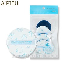 A'PIEU Air In Puff 4pcs -Blue [BonoBono Edition],A'Pieu,Beauty Box Korea