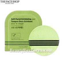 THE FACE SHOP Soft Facial Exfoliating Pad 8g*5ea,THE FACE SHOP,Beauty Box Korea
