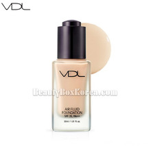VDL Air Fluid Foundation Velvet SPF30 PA++ 30ml, VDL,Beauty Box Korea