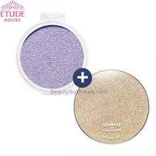 ETUDE HOUSE Any Cushion Color Corrector 14g SPF34 PA++with Sparkle Your Case 1ea,Beauty Box Korea