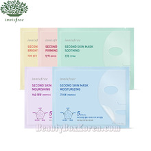 INNISFREE Second Skin Mask 20g [New],Beauty Box Korea
