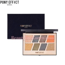 PONY EFFECT Master Eye Palette 8colors #Flash Master, PONY EFFECT