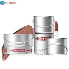 THE SAEM Eye Paint 5g & Lip Paint 6.5ml Set,THE SAEM,Beauty Box Korea