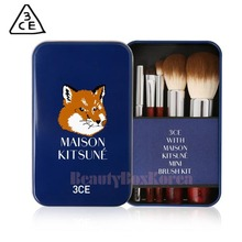 3CE Maison Kitsune Mini Brush Kit 5items