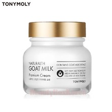 TONYMOLY Naturalth Goat Milk Premium Cream 60ml, TONYMOLY