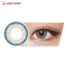 LENS TOWN 1st Street Color Lens 1pack (Urban Gray)
