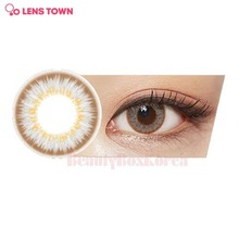 LENS TOWN 1st Street Color Lens 1pack  (Urban Brown)