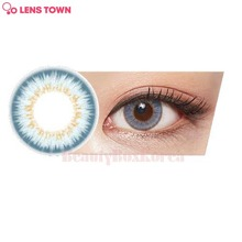 LENS TOWN 1st Street Color Lens 1pack (Urban Blue)
