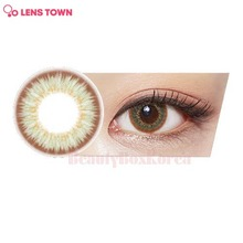LENS TOWN 1st Street Color Lens 1pack (Urban Green)