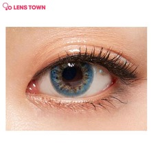 LENS TOWN Star Loves Moon Water Blue 1pack