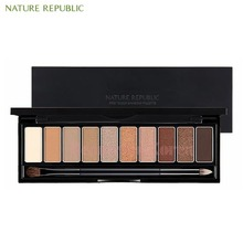 NATURE REPUBLIC Pro Touch Shadow Palette 12g,NATURE REPUBLIC,Beauty Box Korea