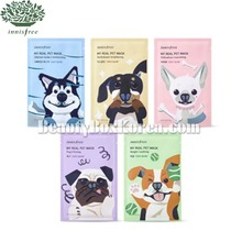 INNISFREE My Real Pet Mask 23g*5ea,Beauty Box Korea