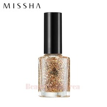 MISSHA Self Nail Salon Glitter Look 8ml,Beauty Box Korea