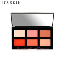 IT'S Skin Life Color Palette [Cheek] 2g*6,Beauty Box Korea