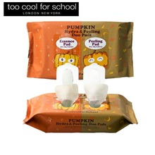 TOO COOL FOR SCHOOL Pumpkin Hydra & Peeling Duo Pads 50ea+82g,TOO COOL FOR SCHOOL