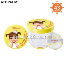 ATOPALM Tok Tok Facial Sun Pact SPF43 PA+++ 15g,Beauty Box Korea
