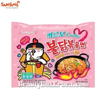 SAMYANG Carbo Hot Chicken Flavor Ramen 130g,Beauty Box Korea