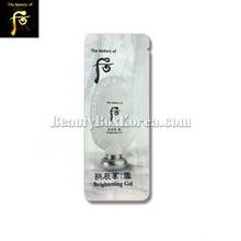 [mini] THE HISTORY OF WHOO Gongjinhyang Brightening Gel 1ml*10ea, Own label brand