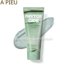 A'PIEU Phytoncide Clay Pack To Foam 100g,Beauty Box Korea