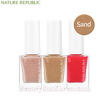 NATURE REPUBLIC Color&Nature Nail Color 8ml [Sand],Beauty Box Korea