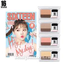 16 BRAND Eye Magazine 2.5g*2ea Set,Beauty Box Korea