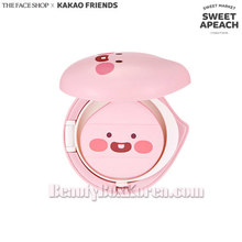 THE FACE SHOP KAKAO FRIENDS Little Friends Natural Sun Eco Baby Mild Sun Cushion SPF28 PA++ 15g