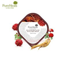 PUREHEALS Ginseng Berry 80 Overnight Mask 10ml*10ea (Capsule Pack)