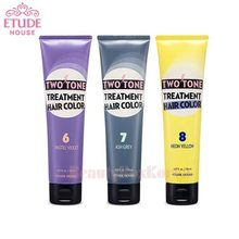 ETUDE HOUSE Two Tone Treatment Hair Color 150ml, ETUDE HOUSE