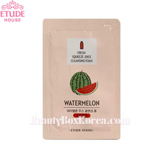 [mini] ETUDE HOUSE Fresh Squeeze Juice Cleansing Foam Watermelon 1ml*10ea
