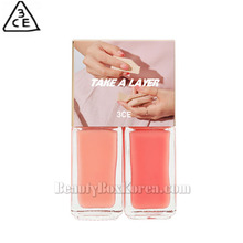 3CE Take A Layer Layering Nail Lacquer 4ml*2ea