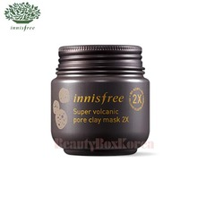 INNISFREE Super Volcanic Pore Clay Mask 2X 100ml, INNISFREE