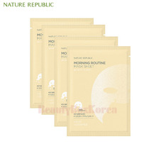 NATURE REPUBLIC Morning Routine Mask Sheet 17g*10ea