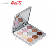 THE FACE SHOP Mono Pop Eyes 5.4g #02 Coke Silver [Coca Cola Edition]