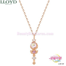 LLOYD Moon Rod & Crystal Broach Necklace 1ea LNT18102T [LLOYD x Sailor Moon],Beauty Box Korea
