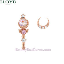 LLOYD Moon Rod & Crystal Broach Earrings 1pair LPTH4073T [LLOYD x Sailor Moon]