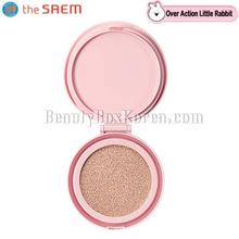 THE SAEM Eco Soul Power Stay Cushion Refill 15g [Over Action Little Rabbit Edition],Beauty Box Korea