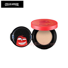 CELLEANSER Larva Red Cover Pact SPF35 PA++ 15g #22 [LARVA Limited Edition]