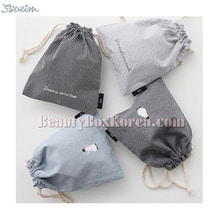 SSUEM Penguin Cotton Pouch 1ea
