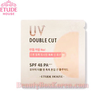 [mini] ETUDE HOUSE UV Double Cut Moisture Tone Up Sun Fluid SPF 48 PA+++ 1ml*10ea