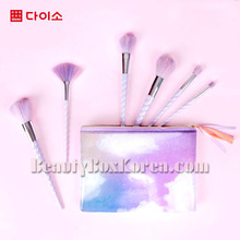 DAISO Unicorn Makeup Brush 1ea