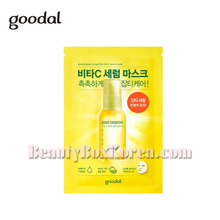 GOODAL Green Tangerine Vita C Dark Spot Serum Sheet Mask 30ml