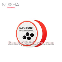 MISSHA Superfood Black Bean Lip Sleeping Pack 7g